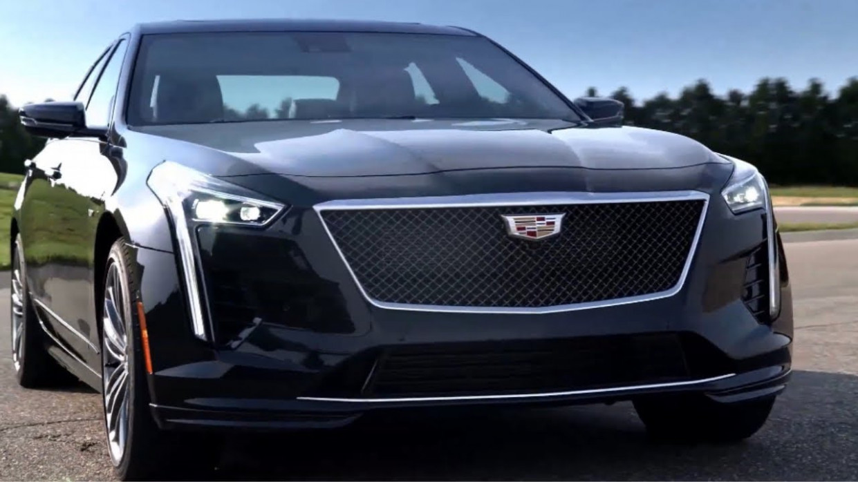 6 Cadillac CT6 V-Sport Sedan Unveiled - 2020 cadillac ct6 youtube