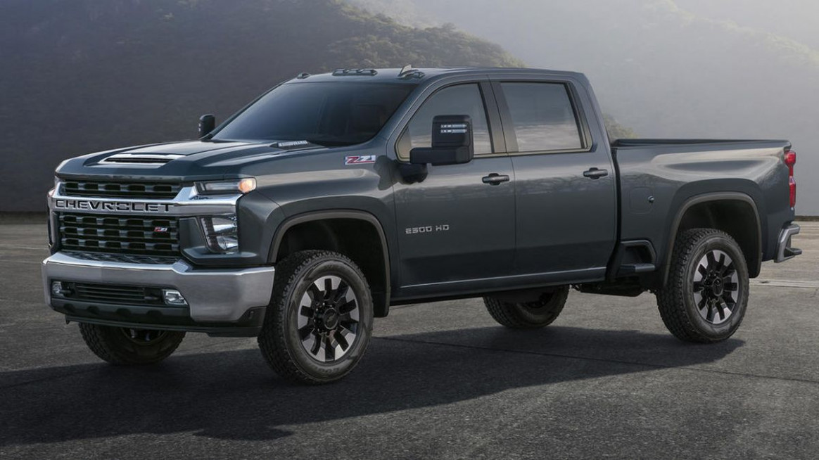 6 Chevy Silverado HD is 6 pound-feet of ugly - Roadshow - chevrolet grill 2020