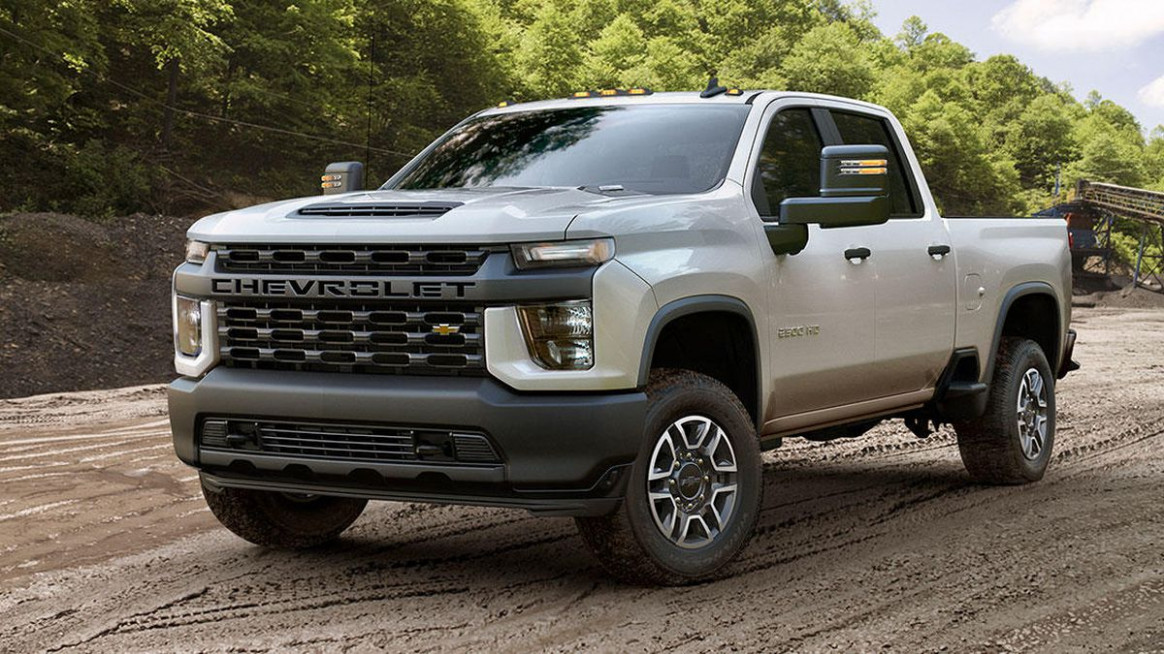 6 Chevy Silverado HD tows up to 6,6 pounds, has up to 6 lb ..