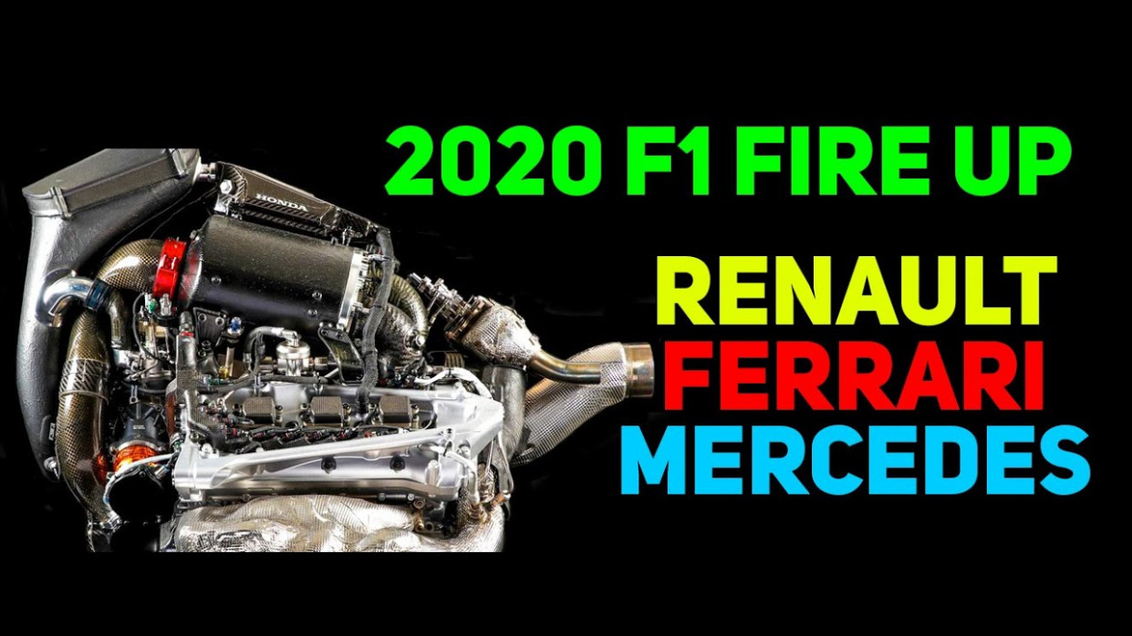 6 F6 Engine Fire Up - Renault Ferrari Mercedes | MCL6 W66 EssereFerrari - 2020 ferrari f1 engine