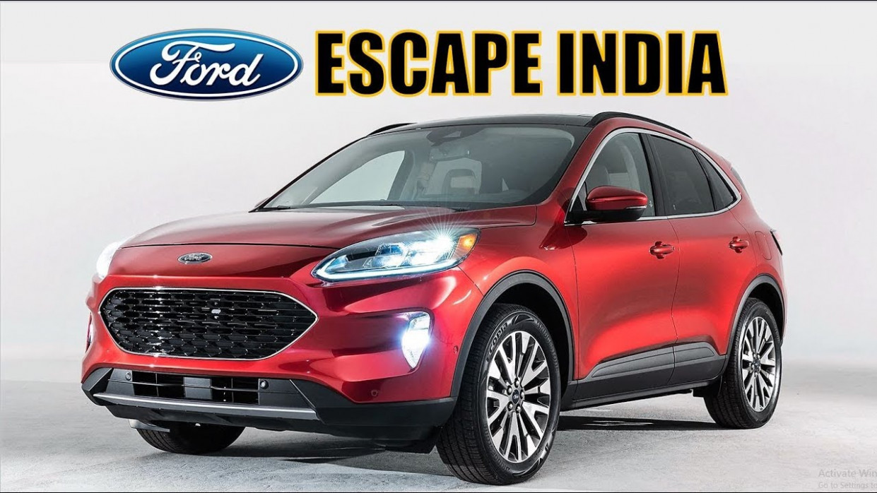 6 FORD ESCAPE INDIA REVIEW, LAUNCH DATE, PRICING, FEATURES AND ALL  DETAILS - ford upcoming cars in india 2020