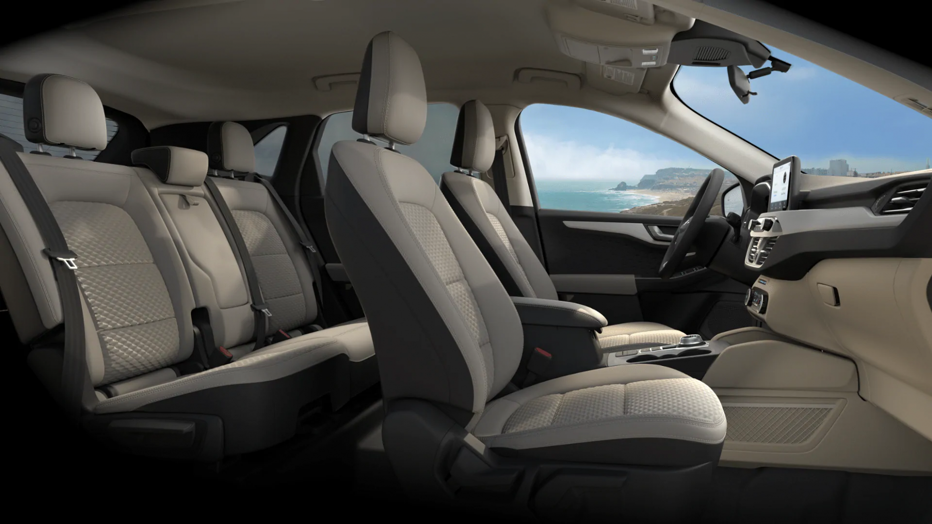 6 Ford Escape Interior Trim Material and Color Options- Akins Ford