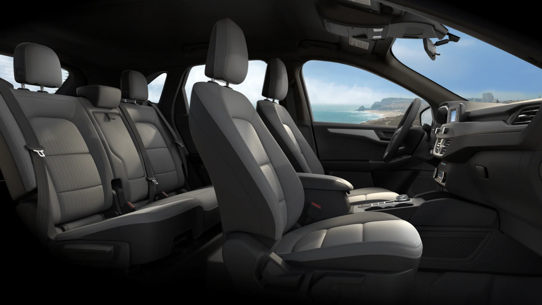 6 Ford Escape Interior Trim Material and Color Options- Akins Ford - 2020 ford interior color chart