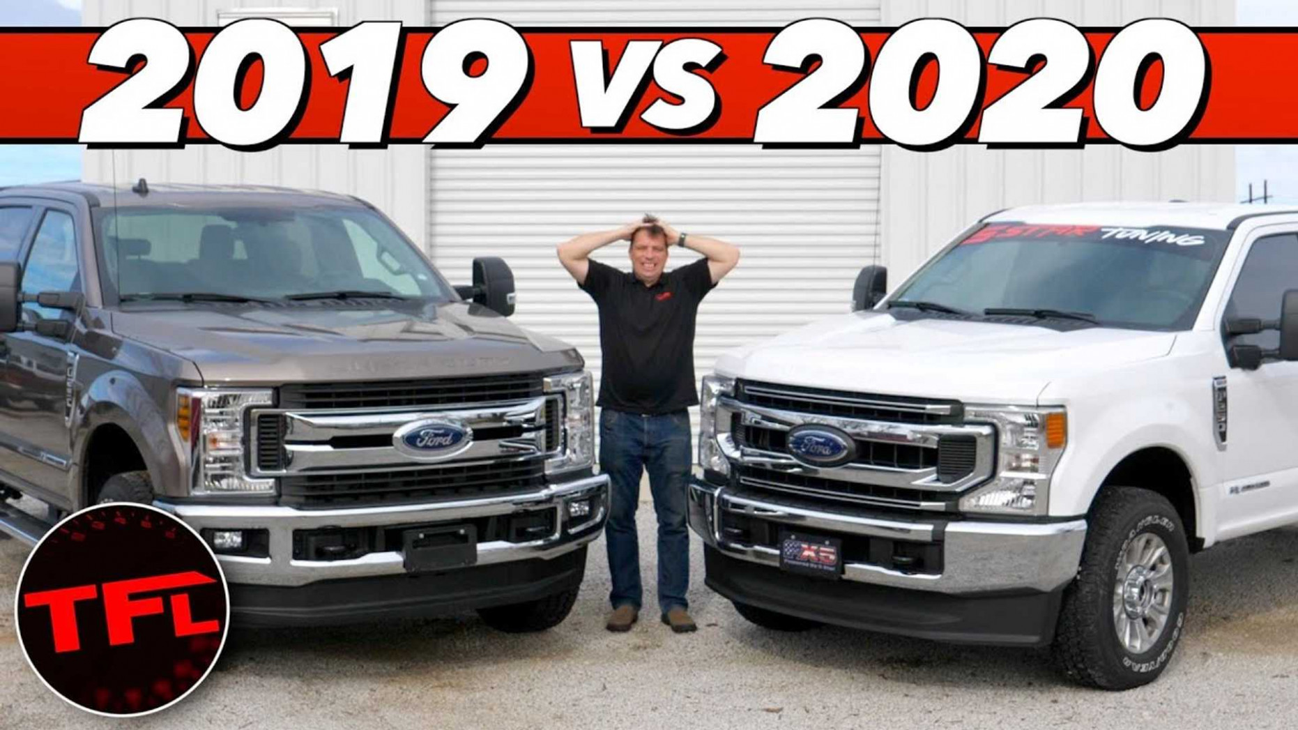 6 Ford Super Duty 6.6L Diesel Compared On Dyno To 6MY