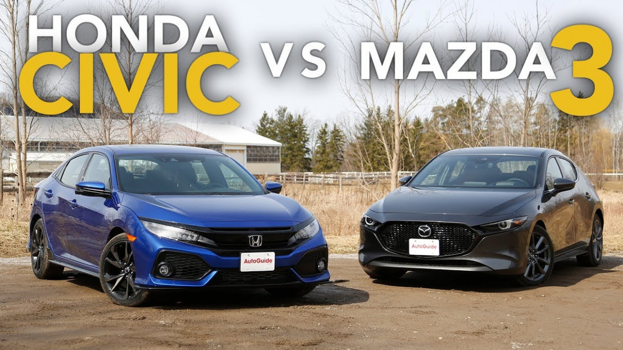 6 Honda Civic vs Mazda6: Which One is the Better Hatchback?