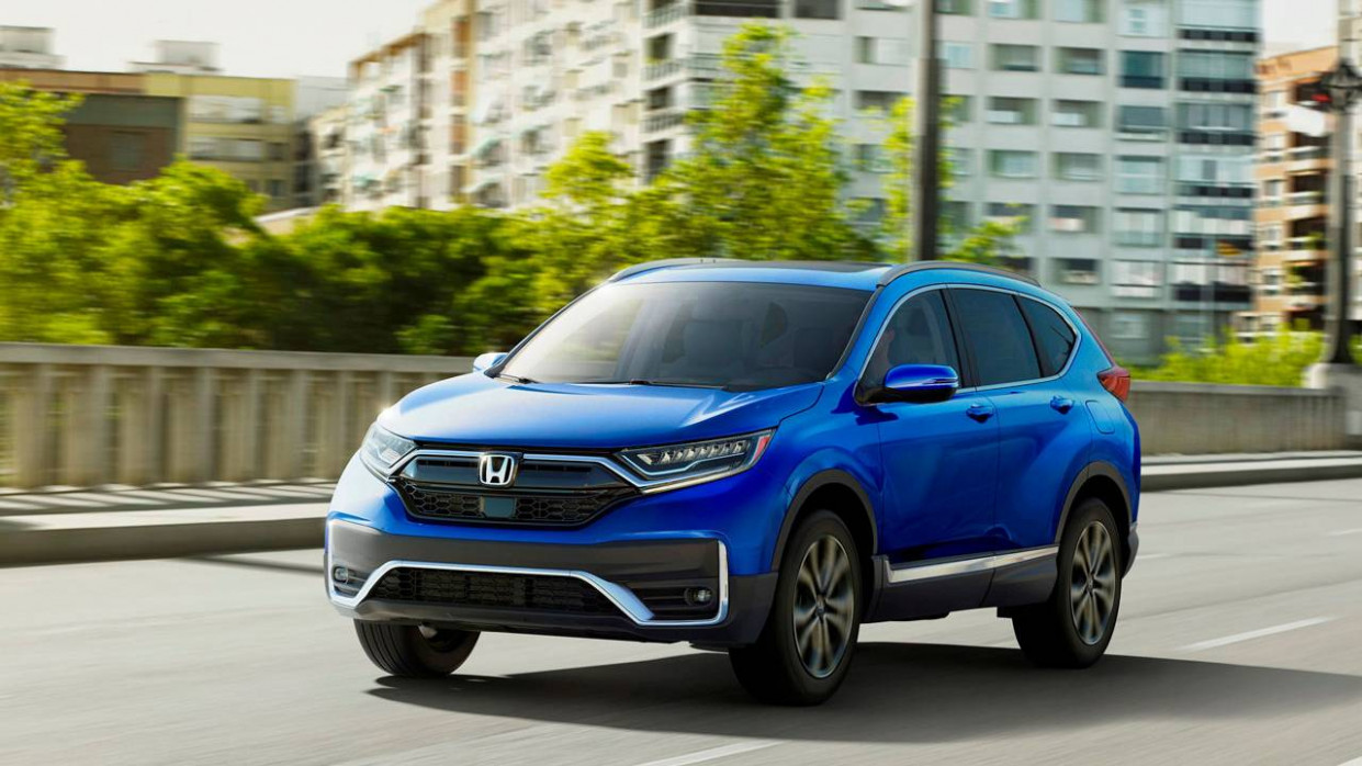 6 Honda CR-V is refreshed and offers a new hybrid version ..