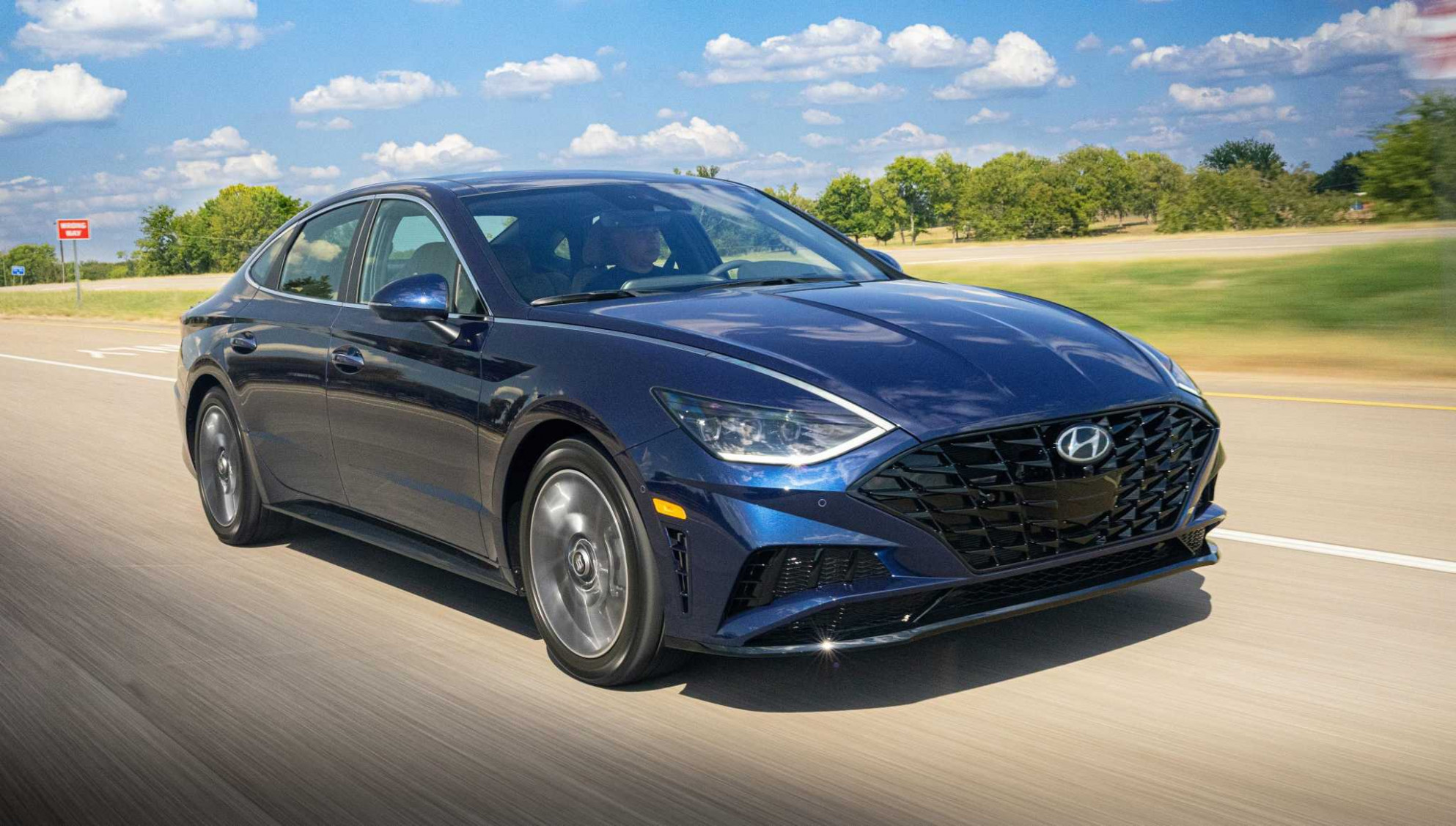 6 Hyundai Sonata upgraded with a more striking design, new body ..