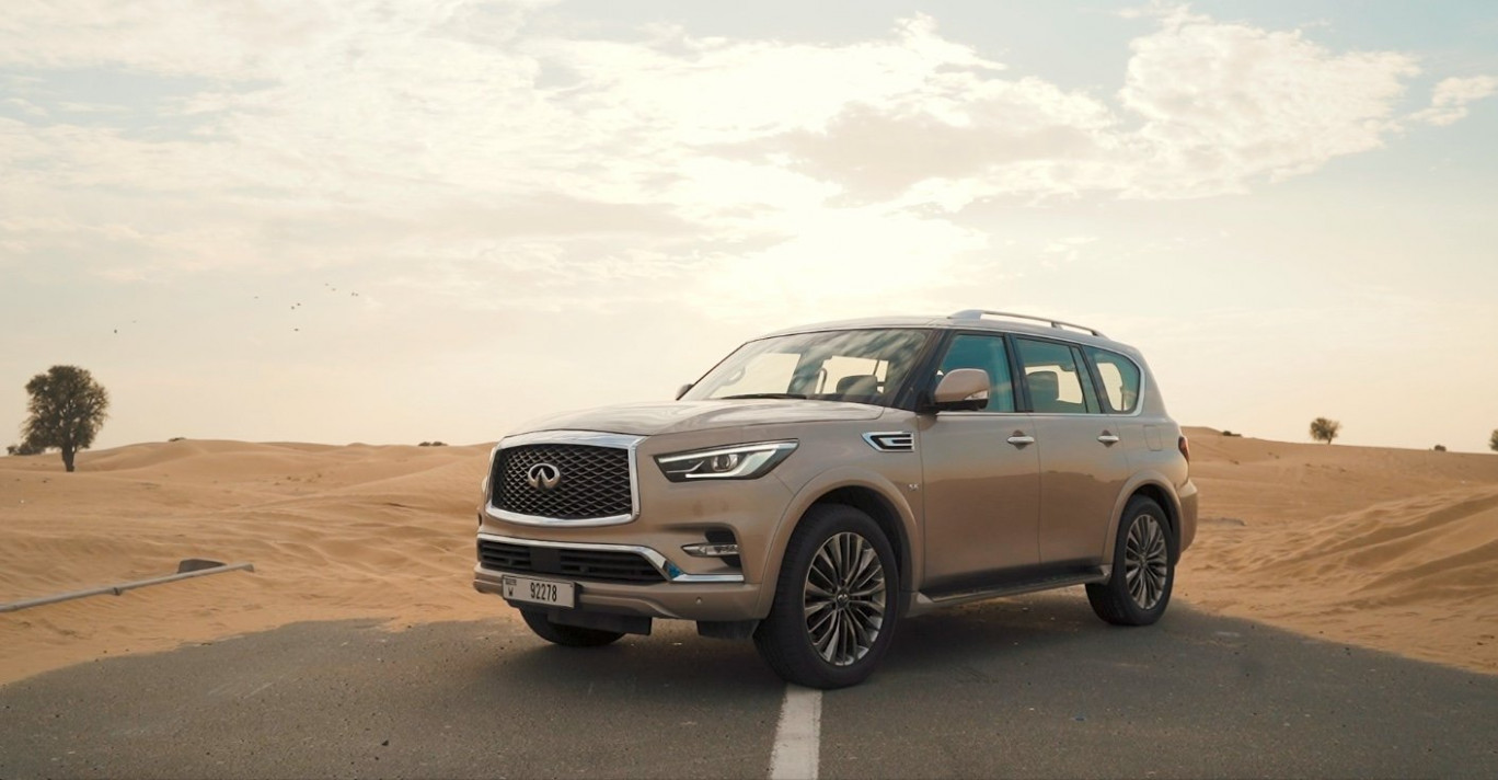 6 INFINITI QX6: Review, Specs and Price in UAE | AutoDrift