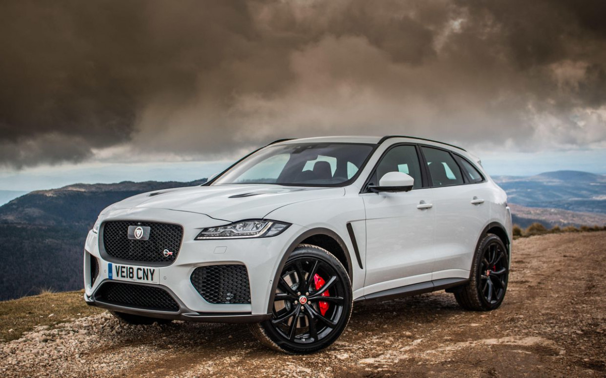 6 Jaguar F-Pace reviews, news, pictures, and video - Roadshow - 2020 jaguar suv v8