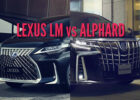 6 Lexus LM vs Toyota Alphard: Differences compared side by side