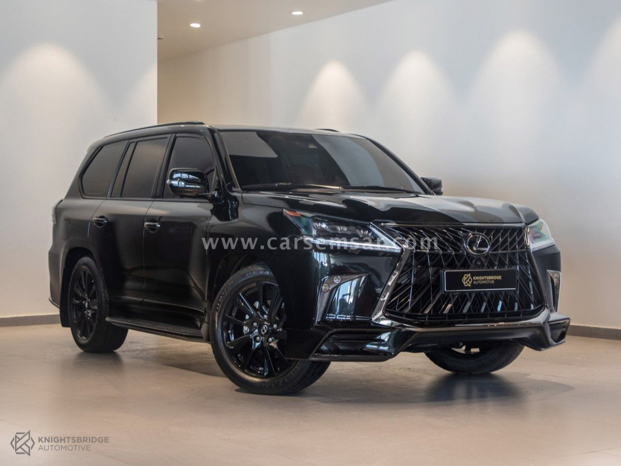 6 Lexus LX 6 Black Edition Sport for sale in Qatar - New and ..