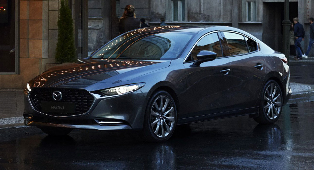 6 Mazda6: First Official Pictures Of Sleek Sedan And Hatch Are ...