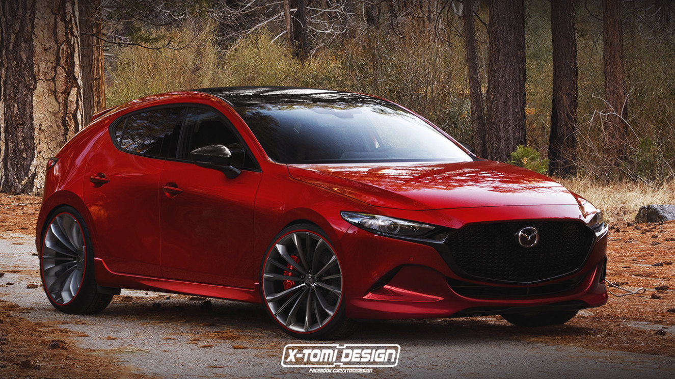 6 Mazda6 MPS (Mazdaspeed6) Rendering Is a Classy Hot Hatch ..