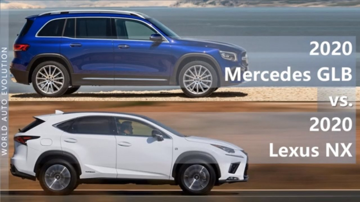 6 Mercedes GLB vs 6 Lexus NX (technical comparison) - lexus nx 2020 vs 2020