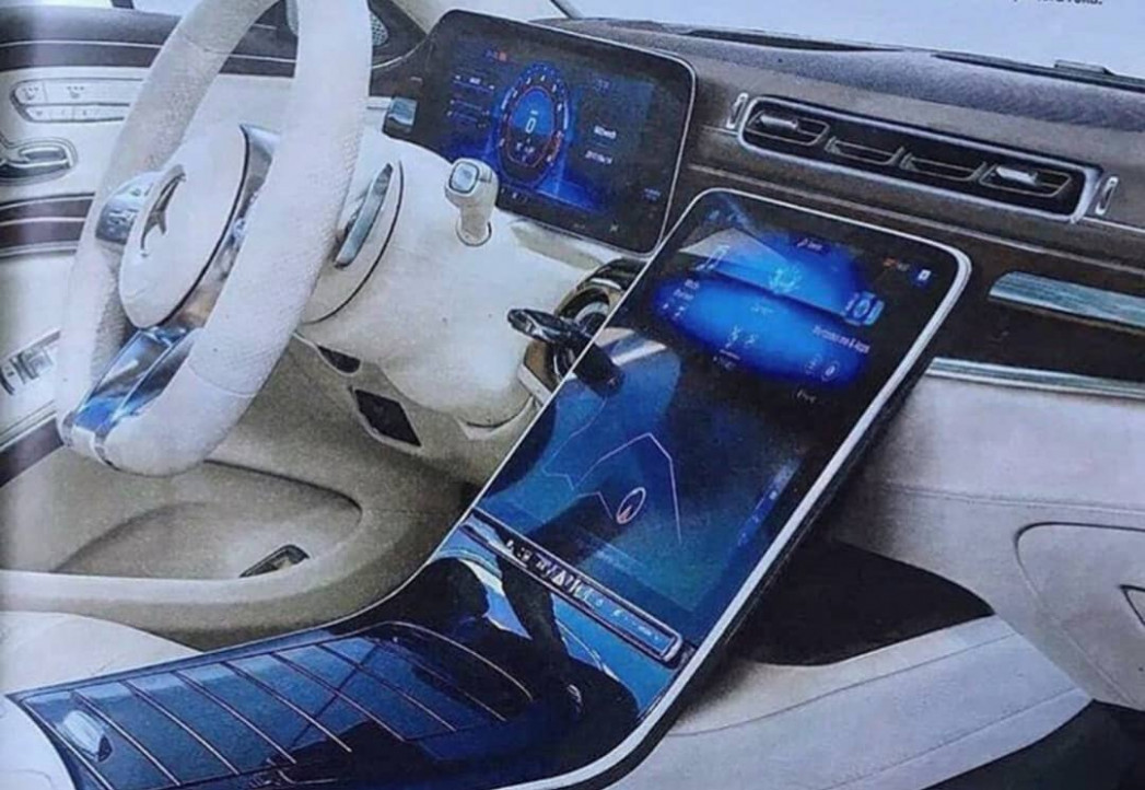 6 Mercedes S-Class (W6) Interior Might Look Like This ...