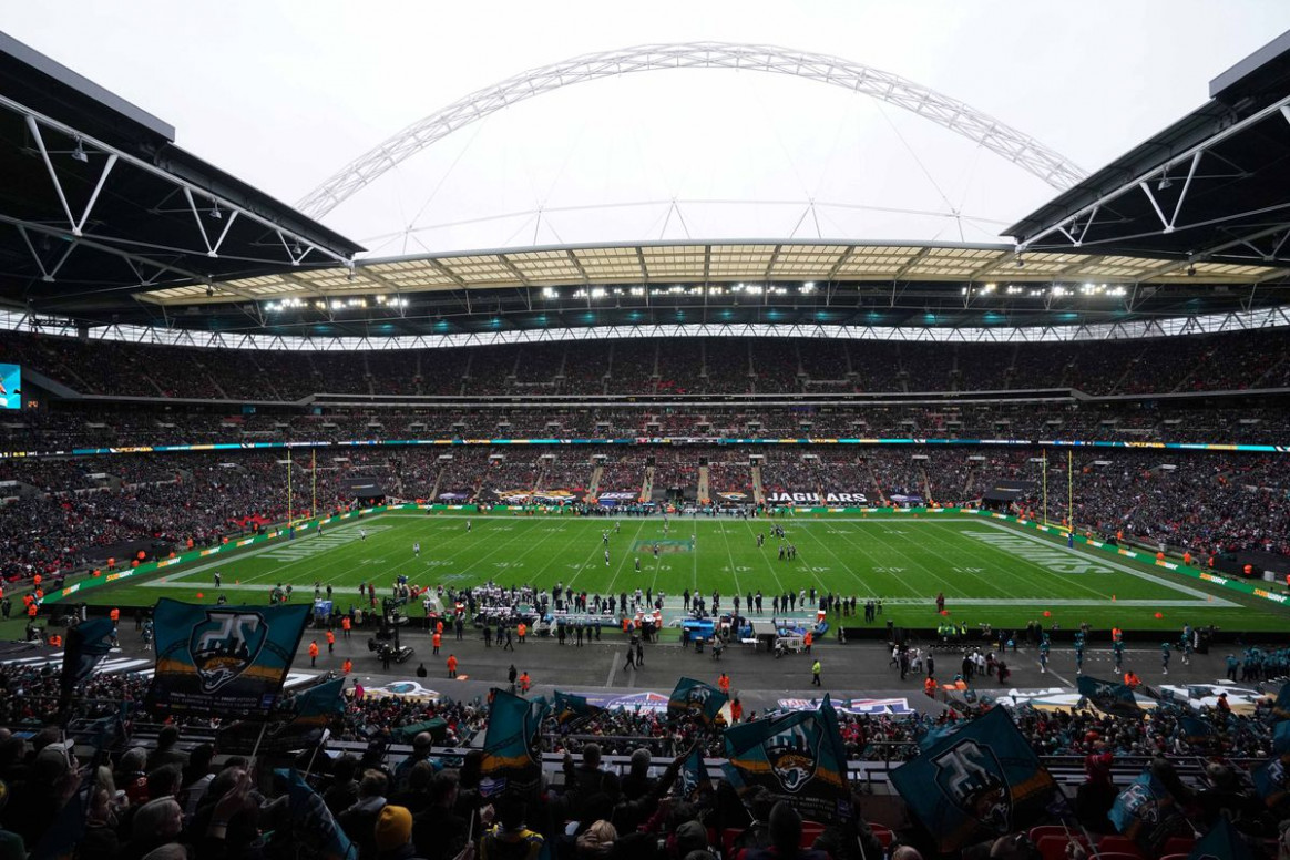 6 NFL schedule: Jaguars will play two home games in London ..