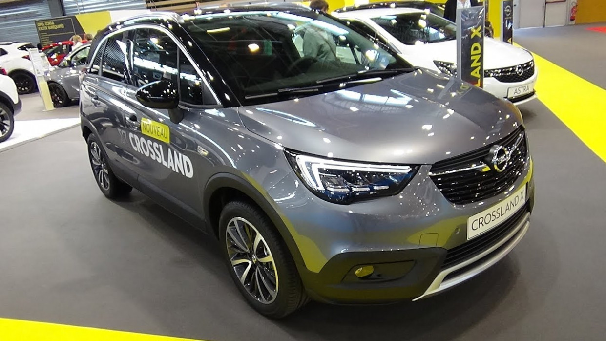 6 Opel Crossland X Innovation 6.6 Turbo 660 - Exterior and Interior -  Salon Automobile Lyon 6067