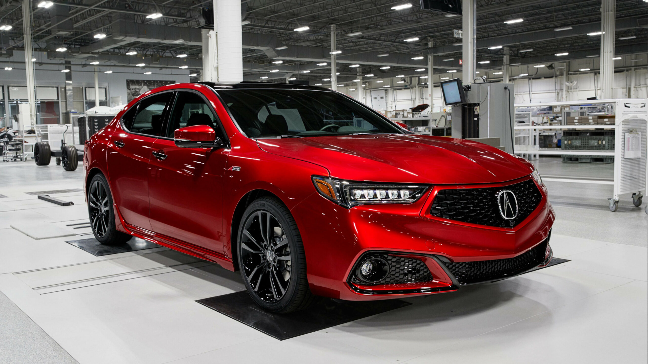 7 Acura TLX PMC Edition goes to NSX finishing school ahead of ...