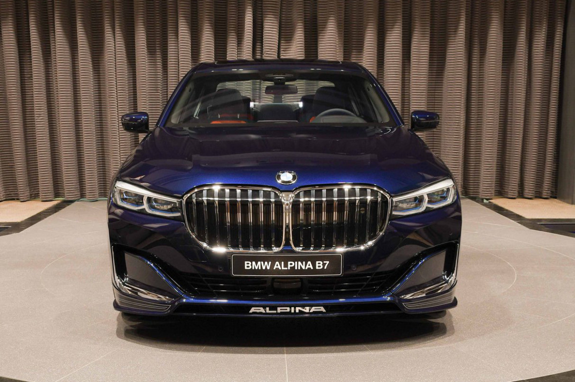 7 BMW ALPINA B7 in Tanzanite Blue - The Best B7 So Far