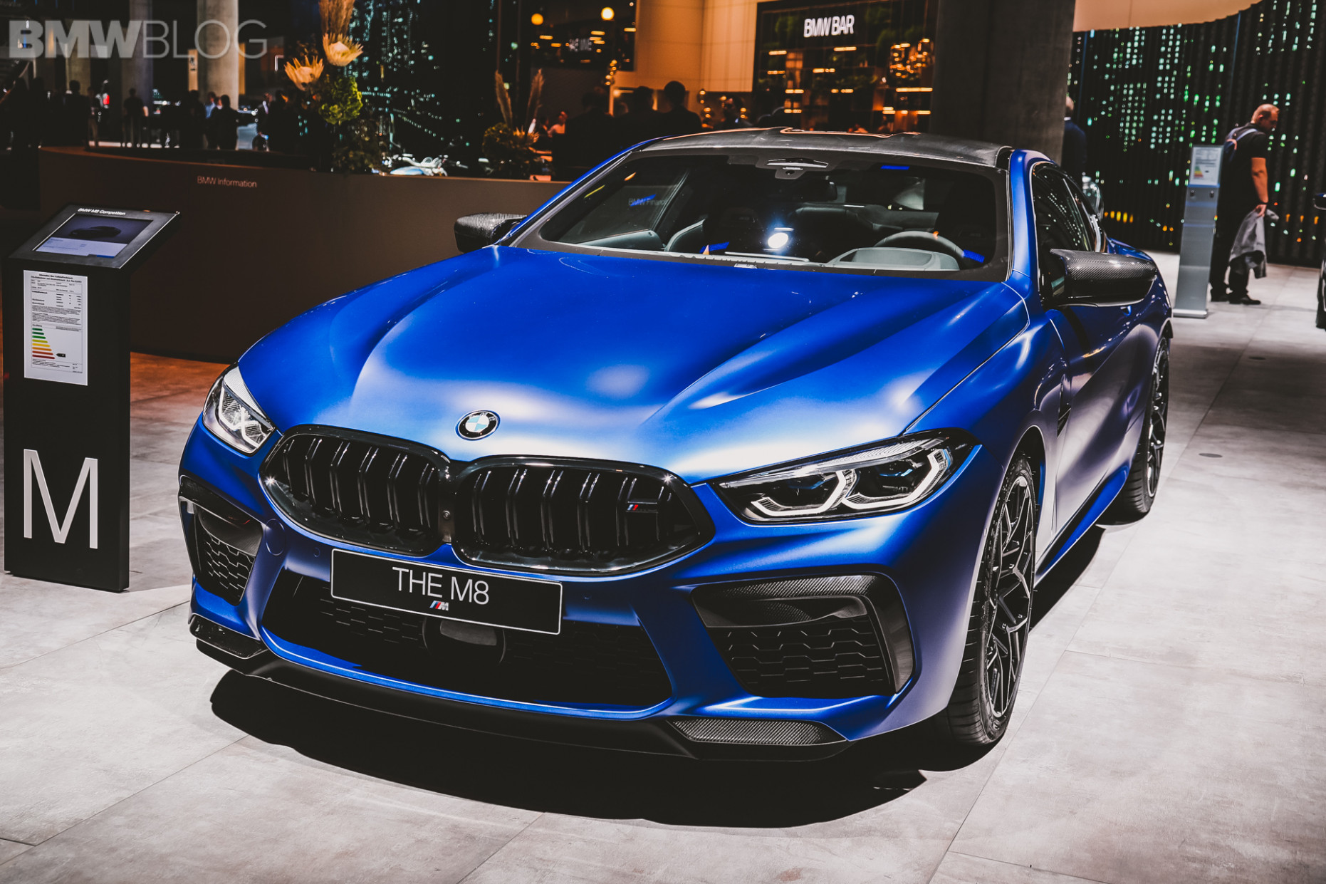 7 BMW M7 Coupe in Frozen Marina Bay Blue - Best Color Yet? - 2020 bmw blue colors