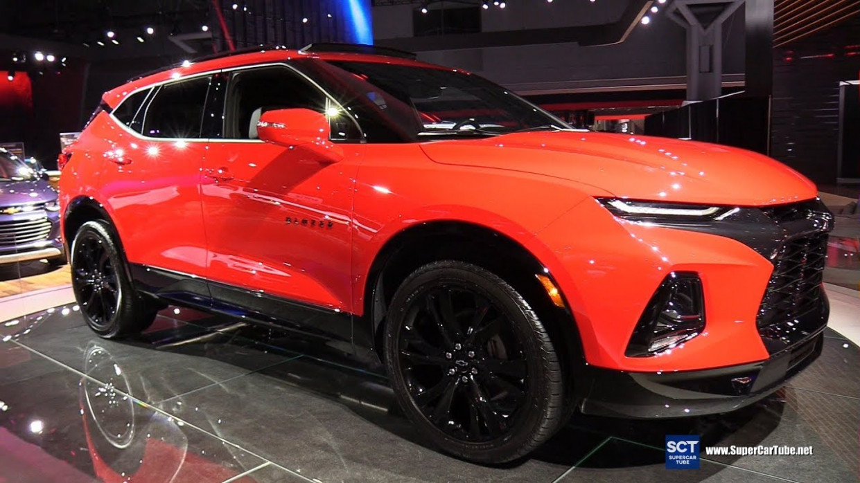 7 Chevrolet Blazer RS - Exterior and Interior Walkaround - 7 New York  Auto Show