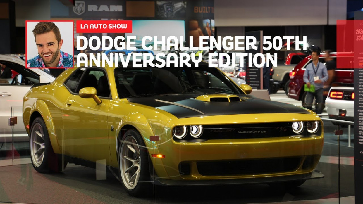 7 Dodge Challenger 7th Anniversary Edition: First Look - 2020 dodge challenger youtube