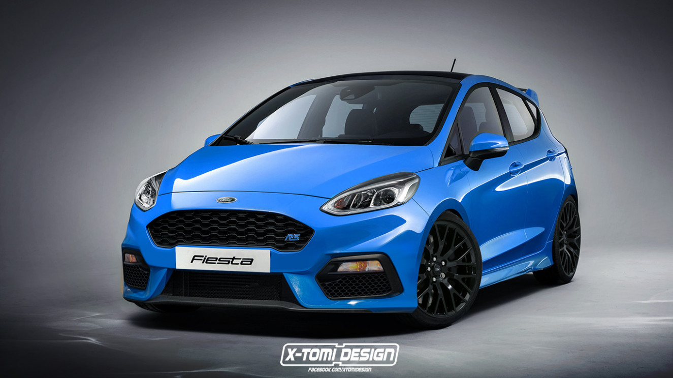 "7 Ford Fiesta RS Probably Confirmed By ""Broad Grin"" - autoevolution"