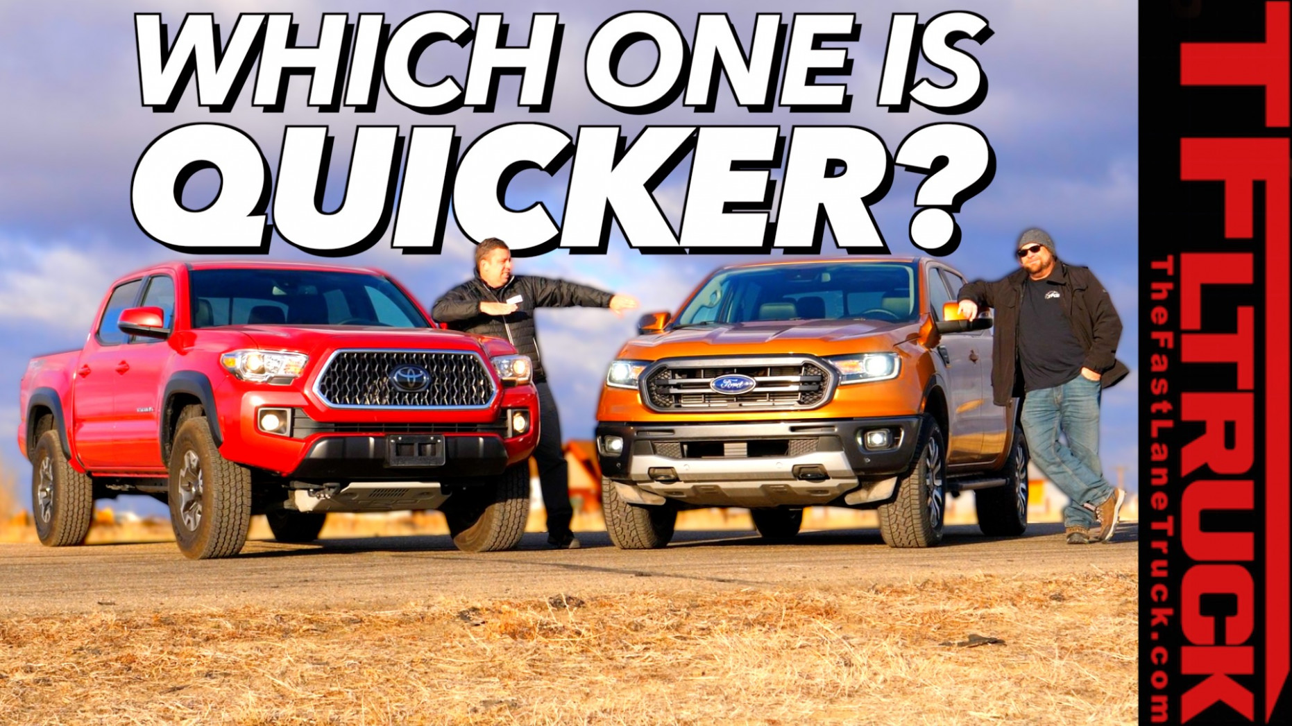 7 Ford Ranger 7-67 MPH and Toyota Tacoma Drag Race (Video ...