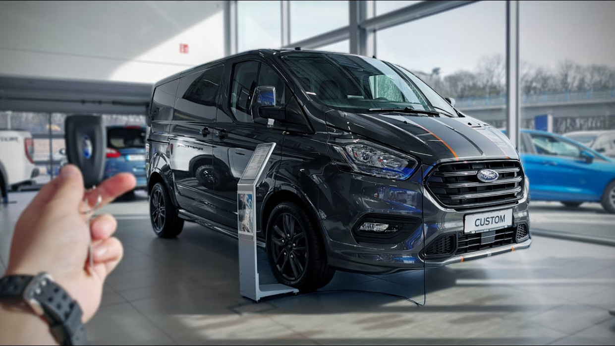 7 Ford TRANSIT Custom 7.7 TDCi (177 HP) SPORT
