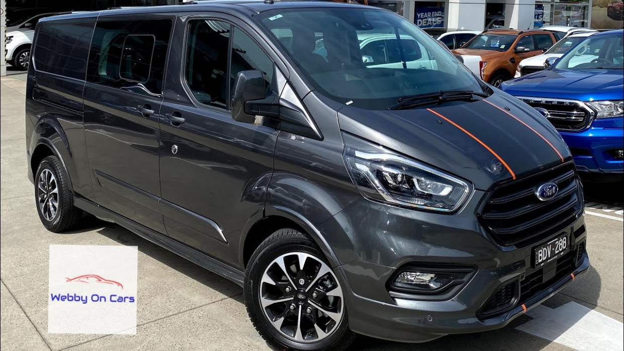 7 Ford Transit Custom Sport Dual Cab (DCiV) first look. Melbourne  Australia #fordtransitcustom