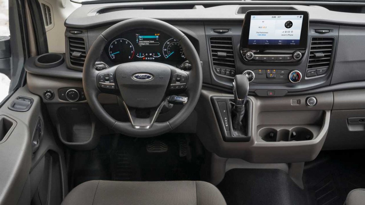 7 Ford Transit Gets New Safety Tech, Available All-Wheel Drive - ford transit custom 2020