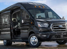 7 Ford Transit Gets New Safety Tech, Available All-Wheel Drive