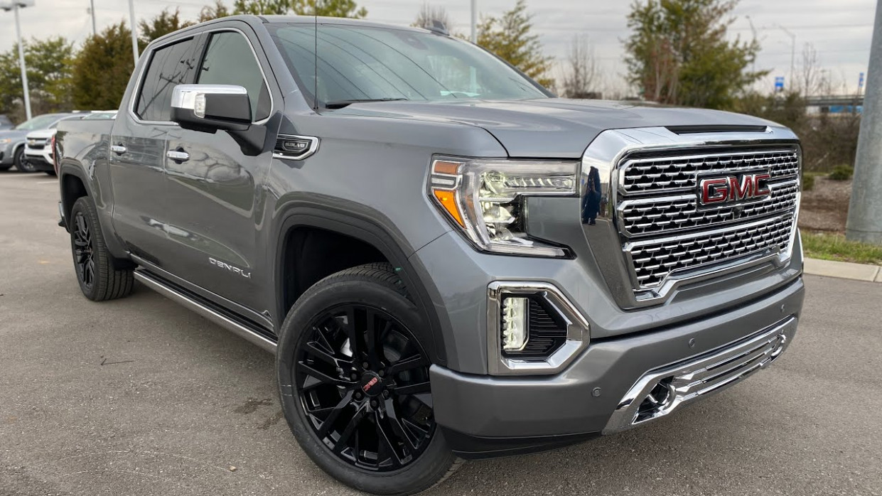 "7 GMC Sierra 7 Denali Ultimate on Black 7"" Wheels Review - 2020 gmc wheels"