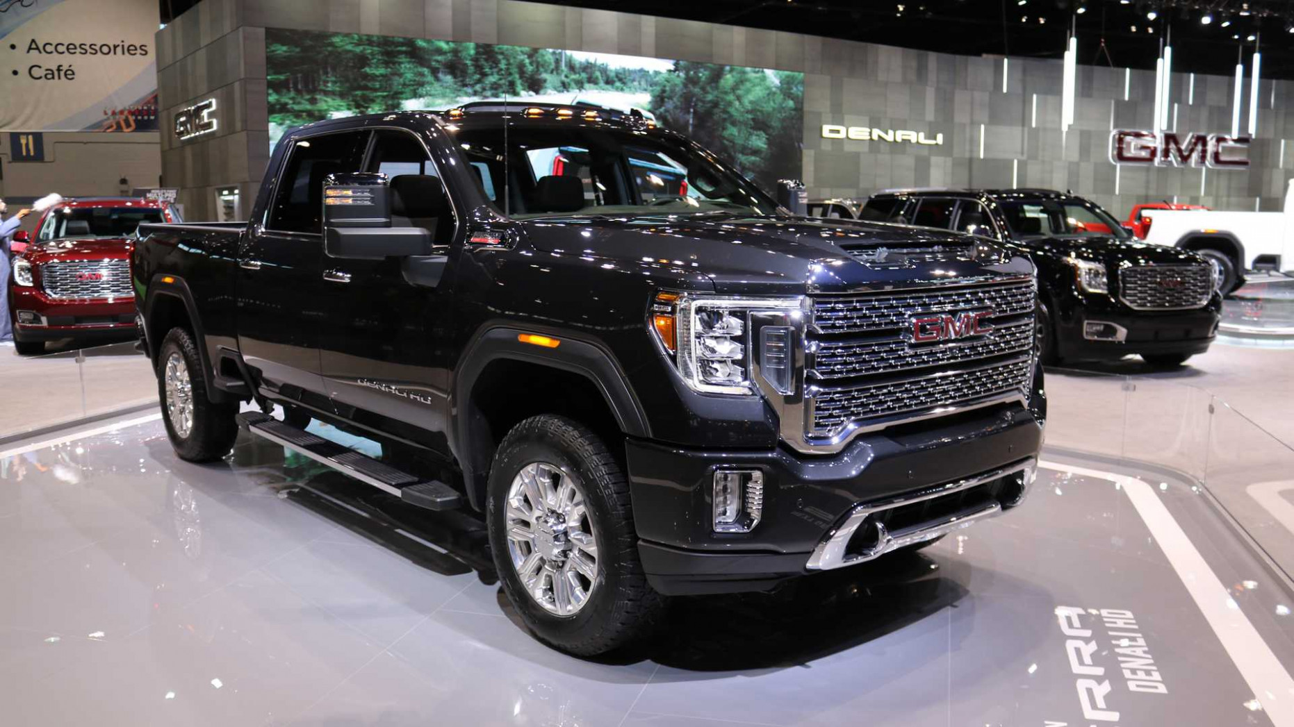 7 GMC Sierra HD Arrives With More Tech And New Off-Road Trim - 2020 gmc paint colors