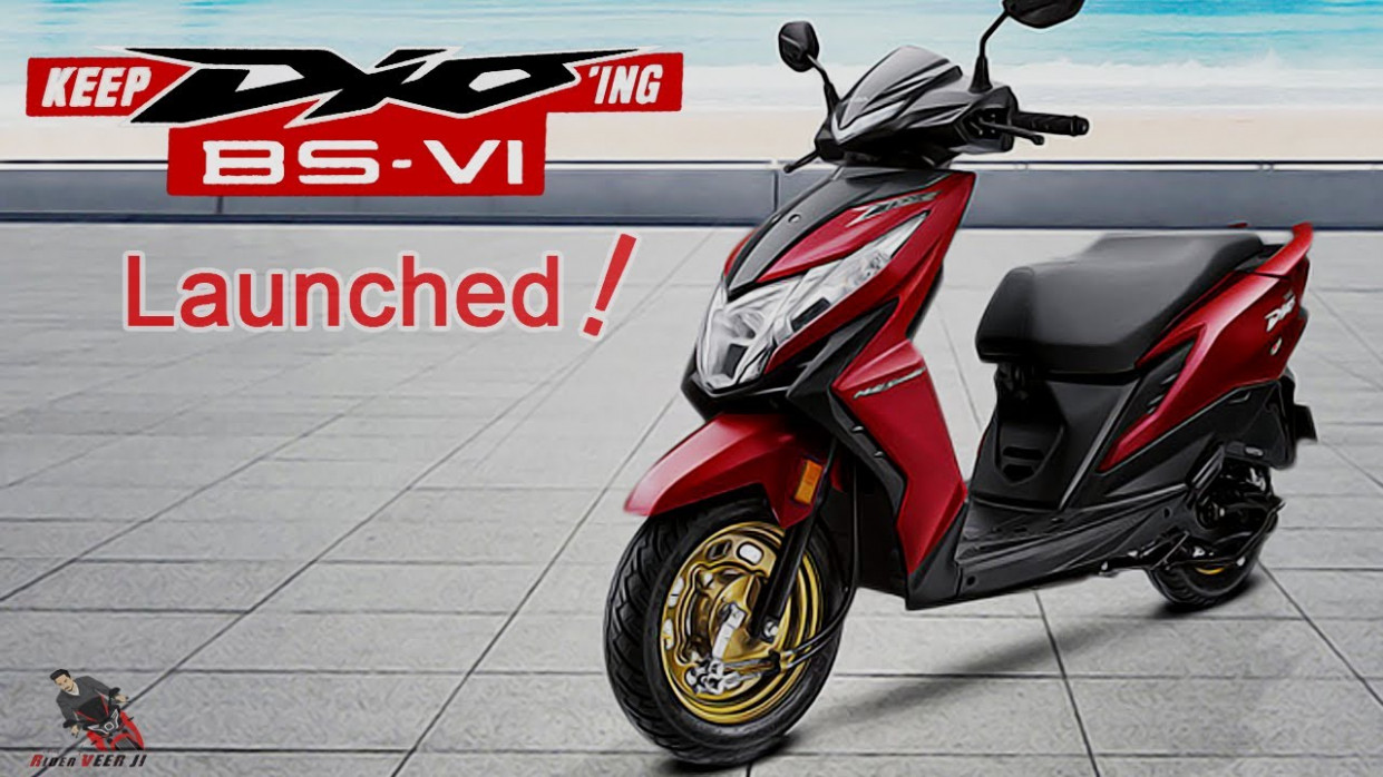 7 Honda Dio BS7 Launched ! A Quiet Revolution | Features | Price &  Details - 2020 honda dio