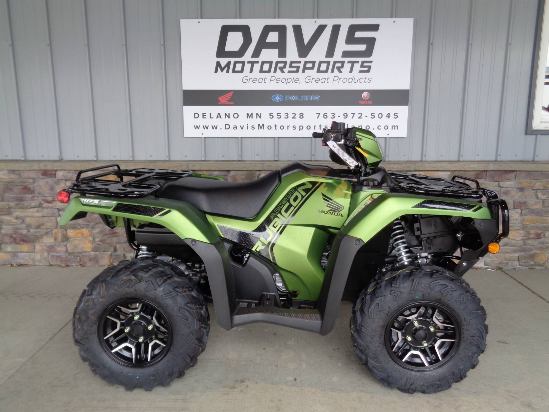 7 Honda Fourtrax Foreman Rubicon 7x7 Automatic Dct Eps Deluxe For Sale  in Delano, MN - ATV Trader - 2020 honda foreman 500