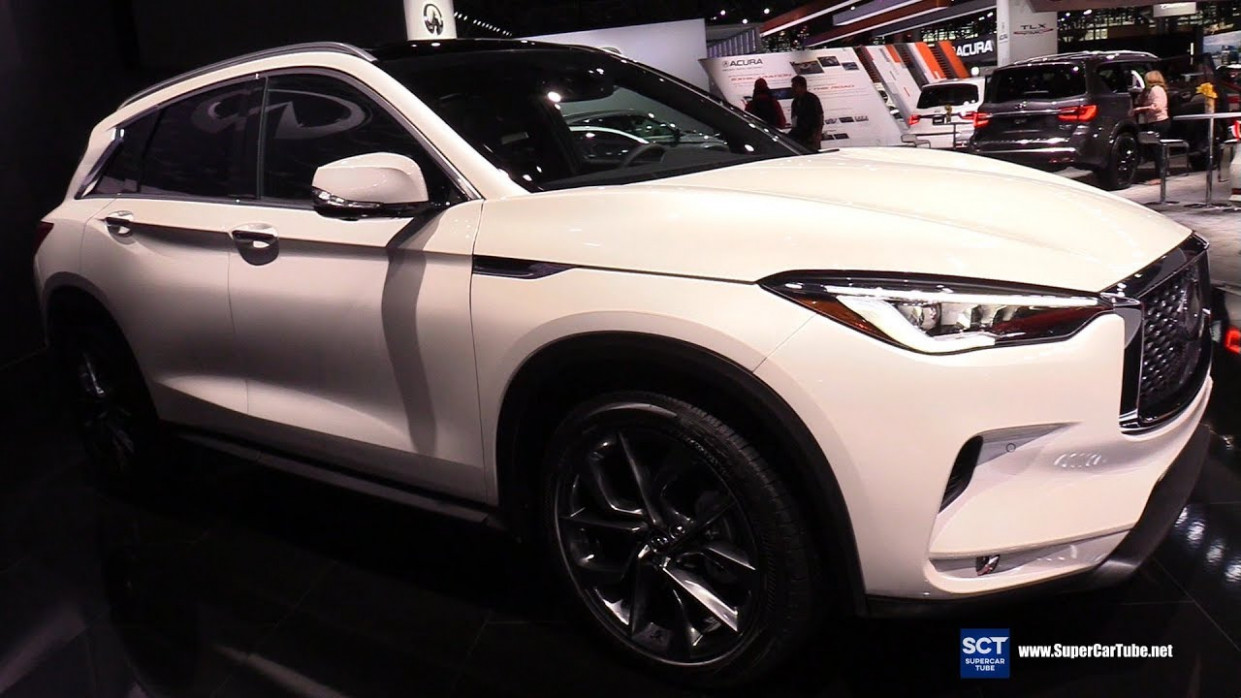 7 Infiniti QX7 - Exterior and Interior Walkaround - 7 New York Auto  Show