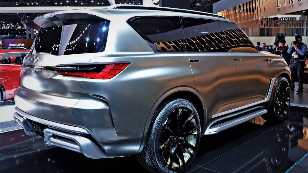 7 Infiniti Qx7 New Concept Research New | Nissan patrol, Suv ...