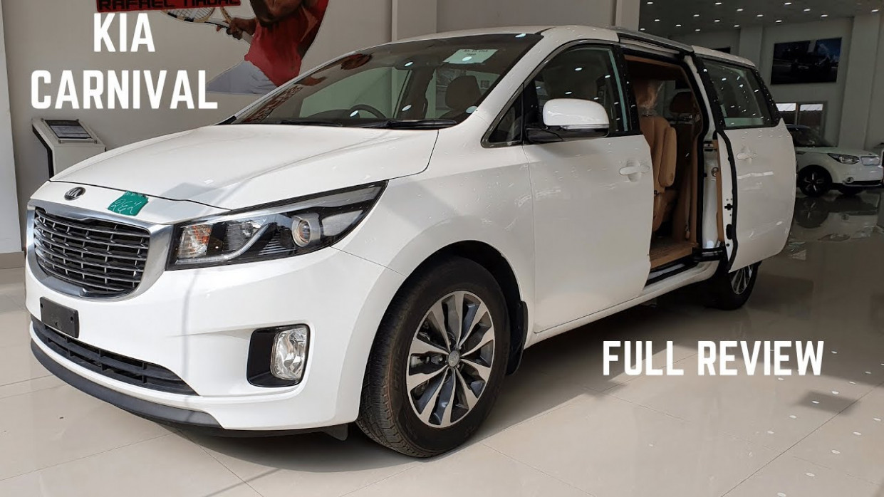 7 Kia Carnival LUXURIOUS MPV India FULL Detailed Review - Latest  Features, New Interiors