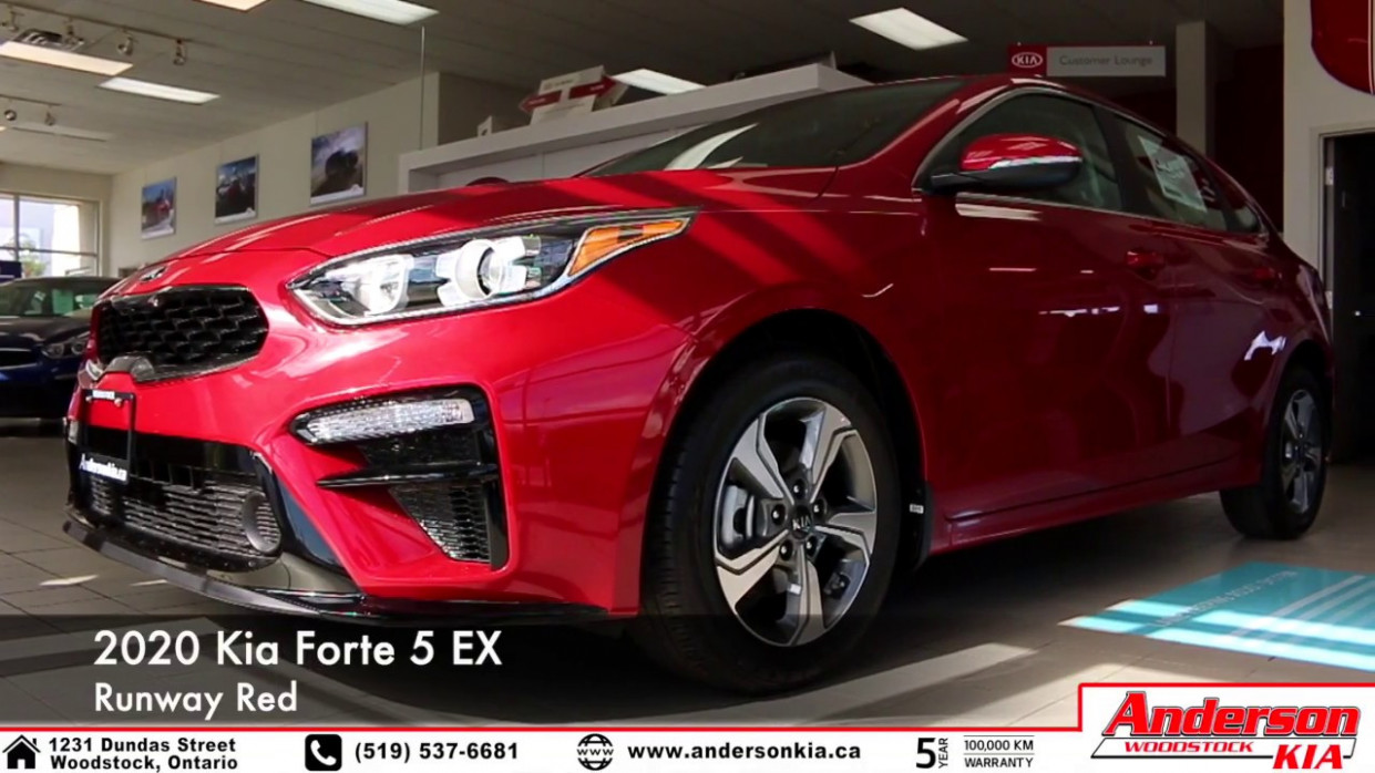 7 Kia Forte 7 EX (Red) - Feature