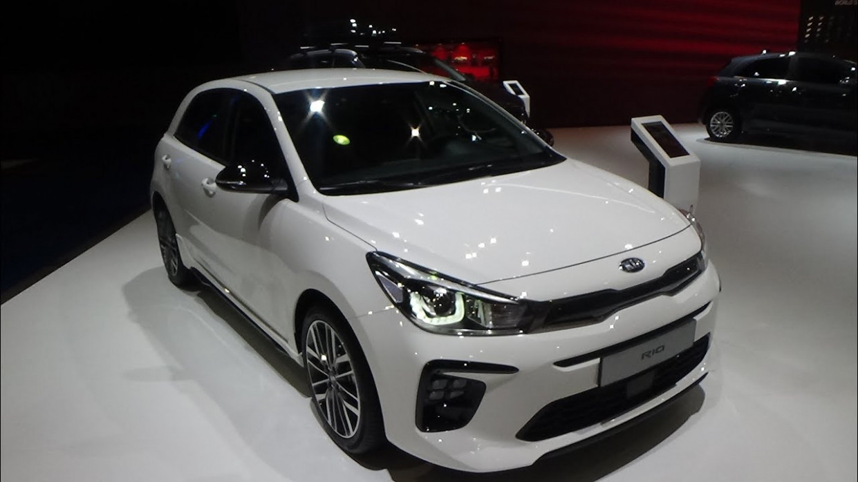 7 KIA Rio GT-Line 7.7T 777 ISG - Exterior and Interior - Auto Show  Brussels 7
