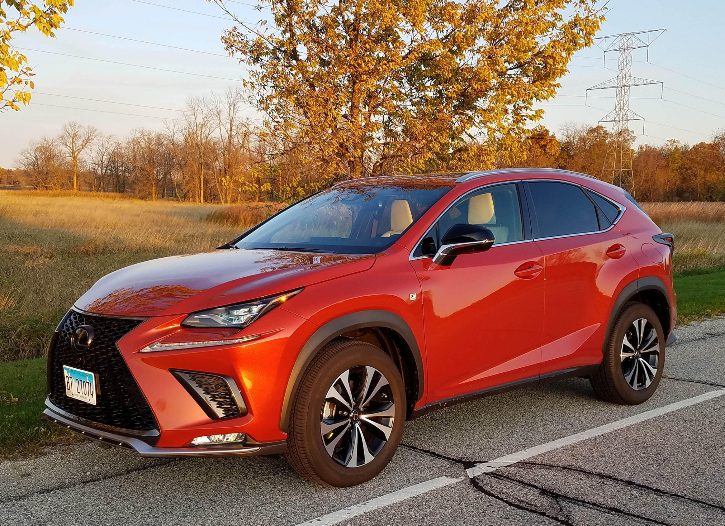 7 Lexus NX 7 AWD F Sport Review | WUWM - 2020 orange lexus