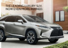 7 Lexus RX - Two- or Three-Row Luxury SUV | Lexus.com