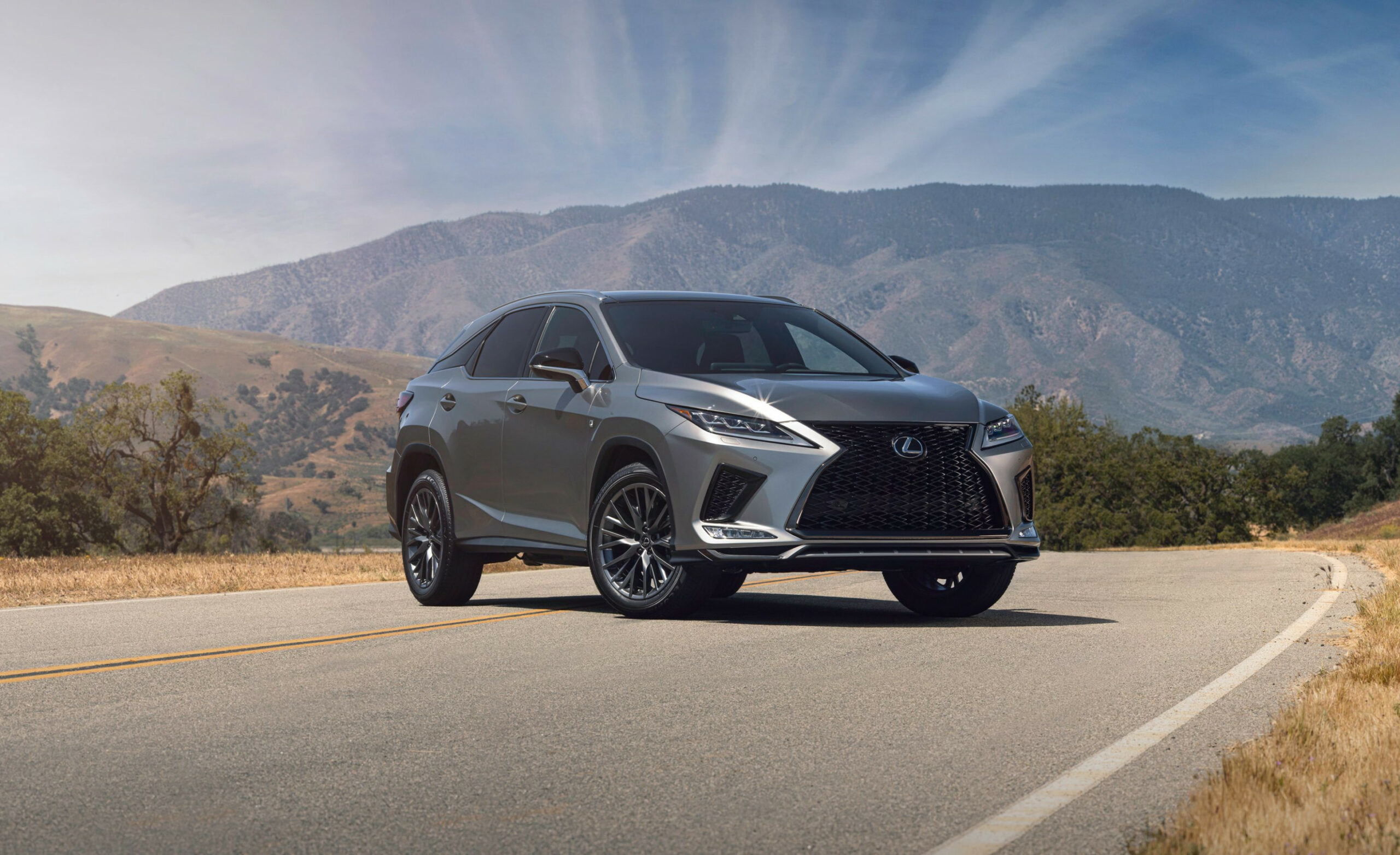 7 Lexus RX7 and RX7h - Details of Updated Models