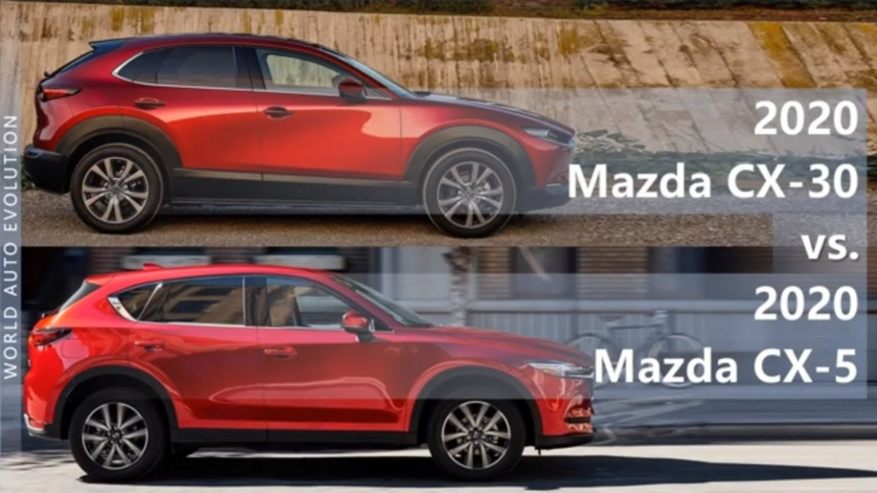 7 Mazda CX-7 vs Mazda CX-7 difference (technical comparison) - 2020 mazda cx 5 zero to 60