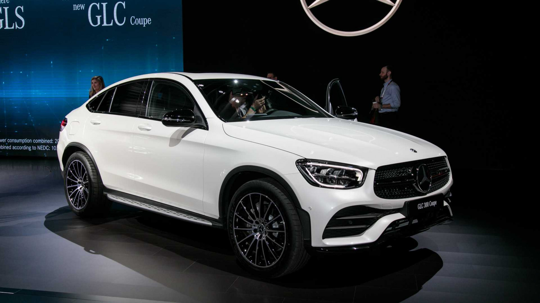 7 Mercedes-Benz GLC Coupe Gets Refreshed Face, More Power [UPDATE]