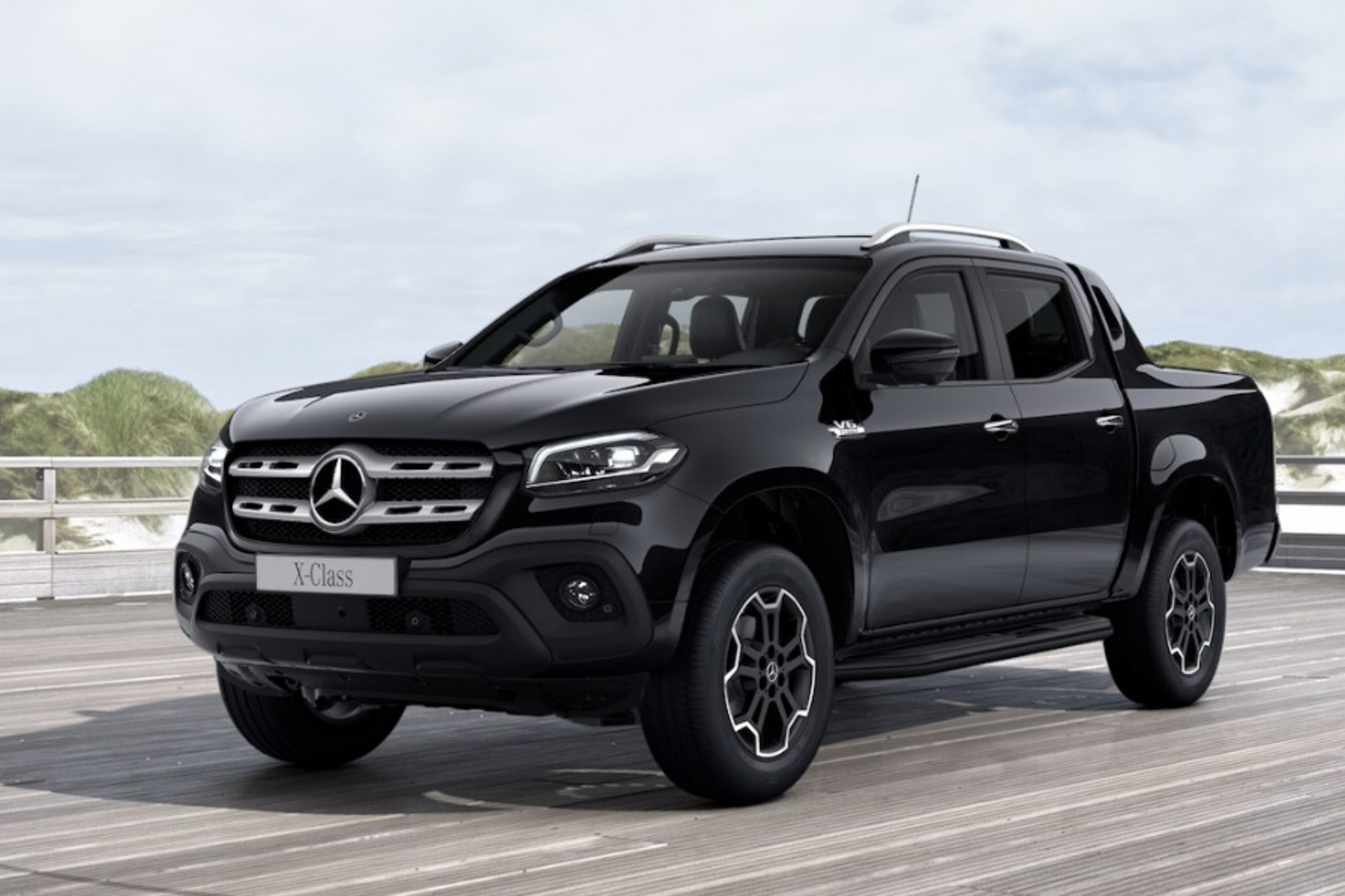 7 Mercedes-Benz X-Class looks mean in all-black - Auto News - 2020 mercedes x