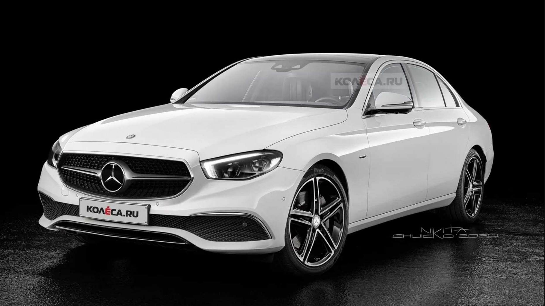 7 Mercedes E-Class Rendering Highlights Subtle Changes