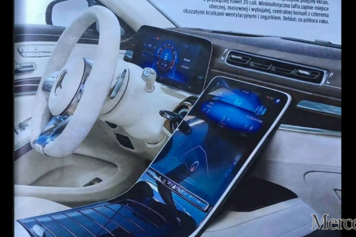 7 Mercedes S-Class: Is this the interior of the all-new luxury ...