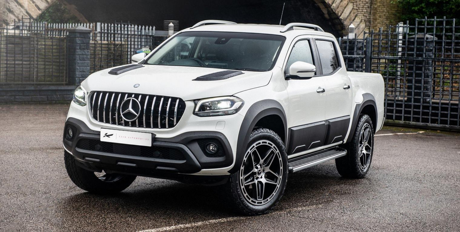 7 Pearl White Project Kahn Mercedes Benz X-Class